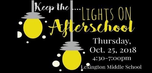 Lights On Afterschool Event