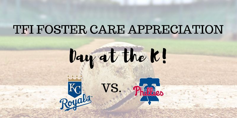 Kansas Foster Care Appreciation Day at the KC Royals Game