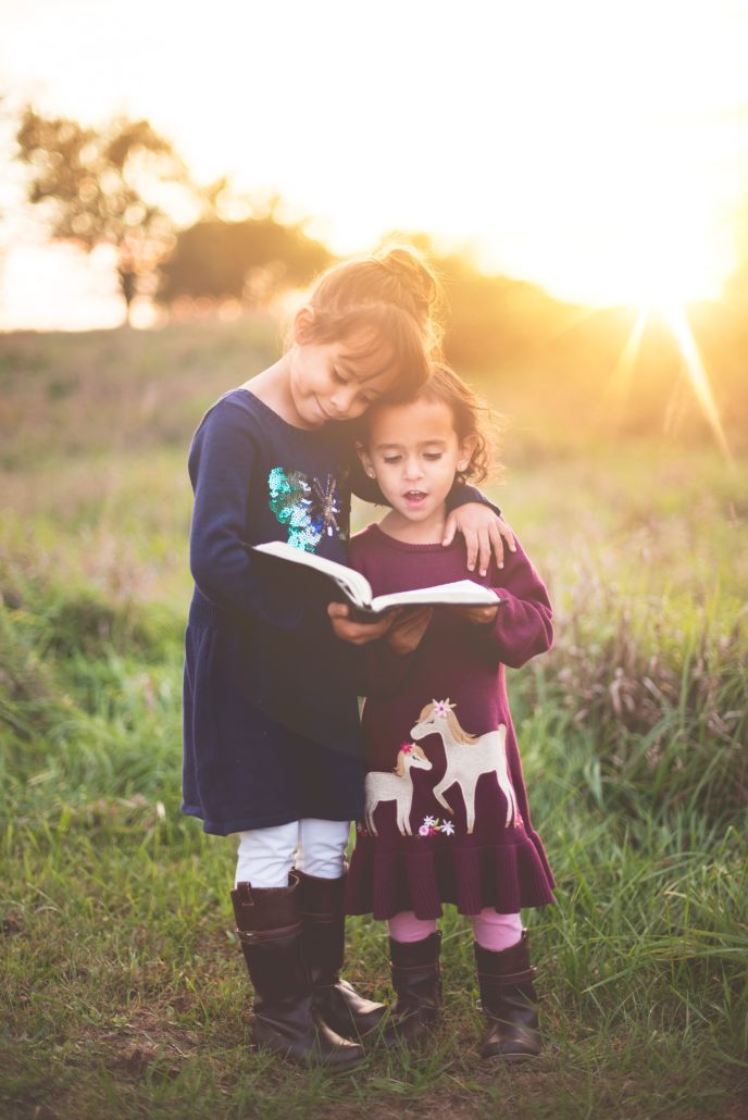 part of the fostering provess is introducing a love of books