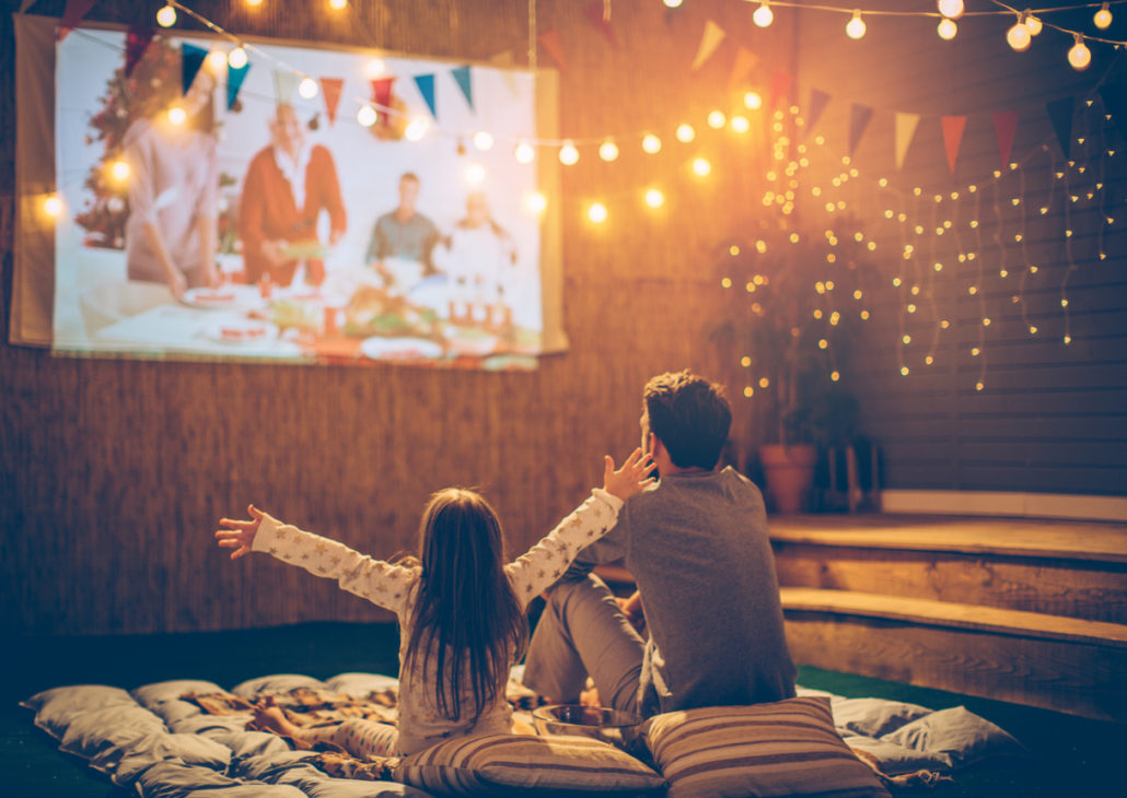 movie night for family foster care