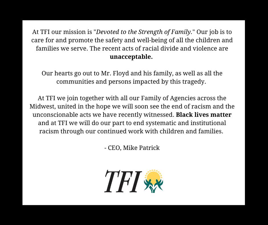 CEO Statement