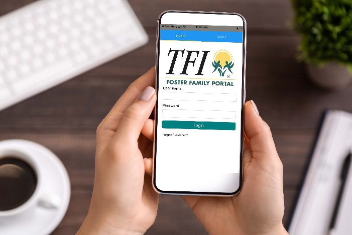 TFI Launches New Innovative Mobile App for Foster Parents