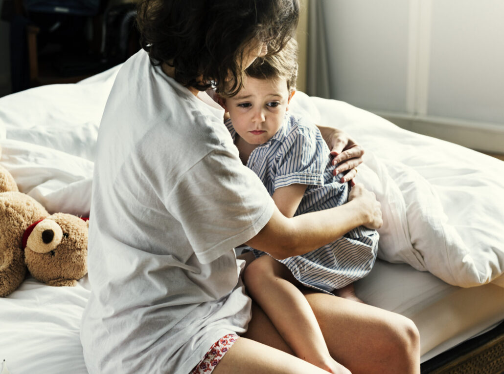 How Foster Parents Can Help a Child Who Has Nightmares